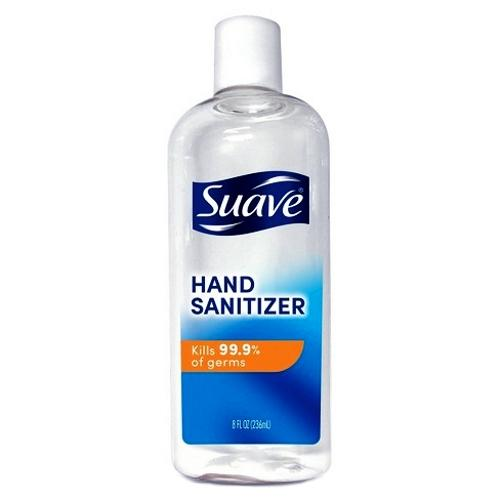 Suave Hand Sanitizer (8 fl. oz.) Kills 99.9% of Germs