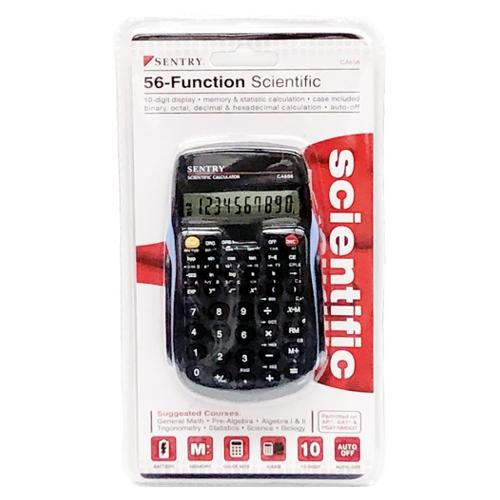 Sentry Scientific Calculator - 56 Function (CA656)