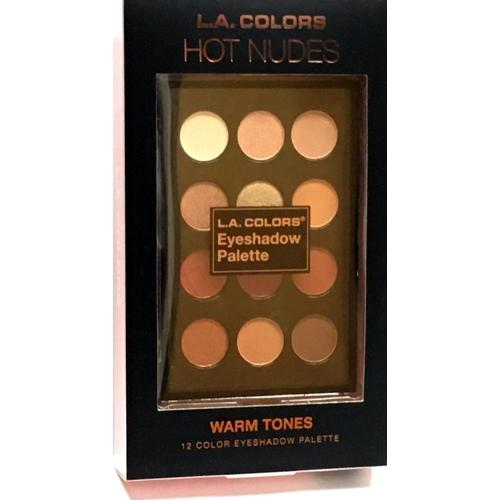 Hot Nudes 12 Color Eye Shadow Palette (Warm Tones)