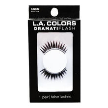 Load image into Gallery viewer, DramatiFlash Silver Glitter Eyelashes - Flutter C42842 (1 Pair)