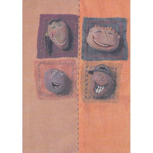 Happy Faces Blank Greeting Card with Envelope