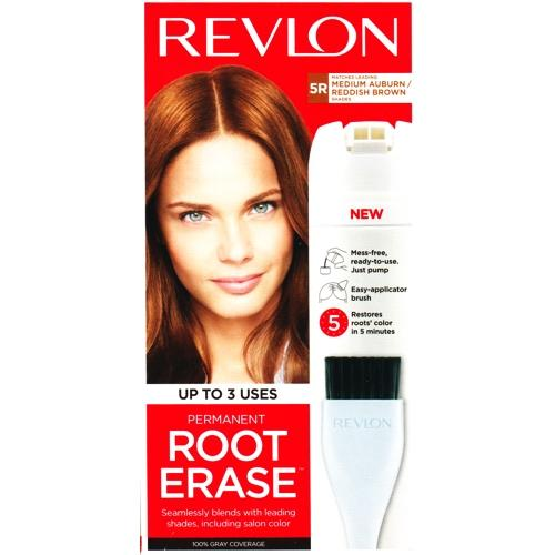 Revlon Root Erase Permanent (5R - Medium Auburn/Reddish Brown)