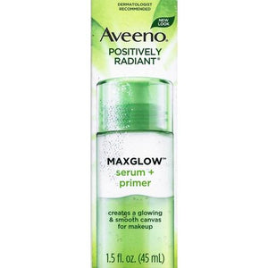 Aveeno Positively Radiant MaxGlow Serum + Primer (1.5 fl. oz.)