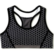 Load image into Gallery viewer, Girls Performance Racerback Sport Bra Black Print (Select Size) 20% to 80% Off at DollarFanatic.com America's Online Dollar Store