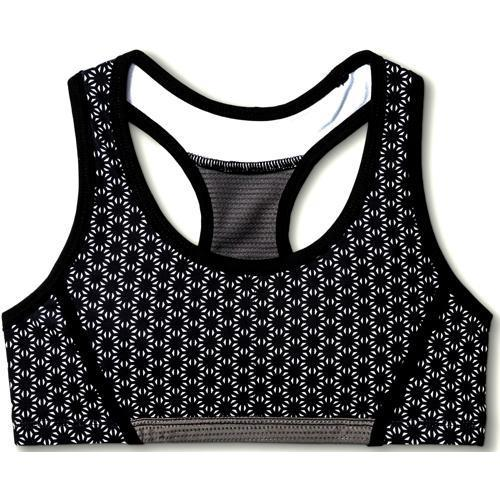 Girls Performance Racerback Sport Bra Black Print (Select Size) 20% to 80% Off at DollarFanatic.com America's Online Dollar Store