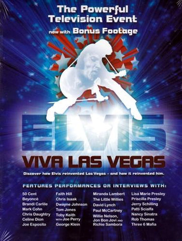 Elvis - Viva Las Vegas (Music DVD with Bonus Footage) only $1.00 at DollarFanatic.com America's First & Only Exclusively Online One Dollar Store.