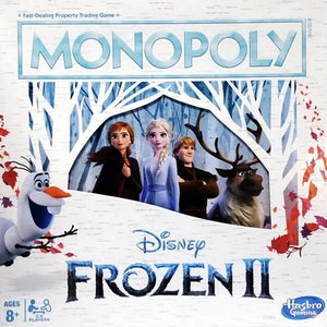 Disney Frozen II Monopoly Board Game (2-6 Players)