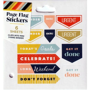 Page Flag Sticker Set (6 Sheets)
