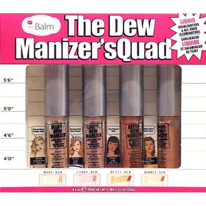 The Dew Manizer'sQuad Liquid Highlighters Set (4 Pack)