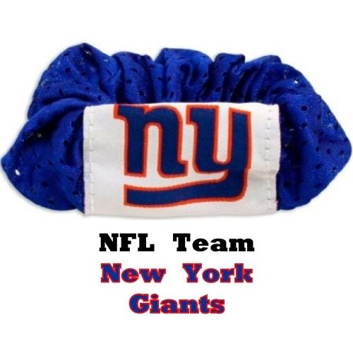 New York Giants Hair Twist Scrunchie (Hair Wear With Attitude) 20% to 80% Off at DollarFanatic.com America's Online Dollar Store
