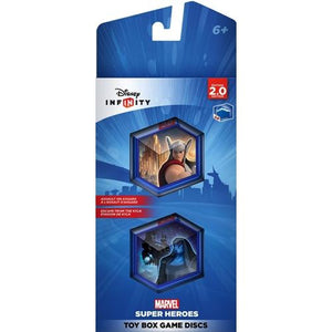 Infinity 2.0 Marvel Avengers Super Heroes Toy Box Game Discs (2 Pack)