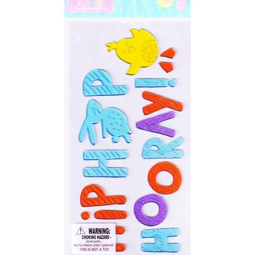 Hip Hop Hooray Easter Gel Clings Set