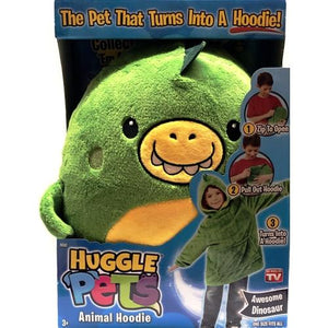 Huggle Pets Animal Hoodie - Awesome Dinosaur (3-11 years) One Size fits most
