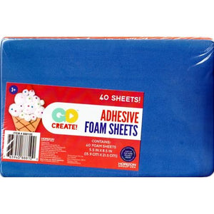 "Go Create Adhesive Foam Sheets - 5.5"" x 8.5"" (40 Pack)"