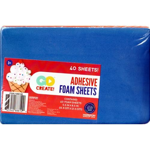 Go Create Adhesive Foam Sheets - 5.5