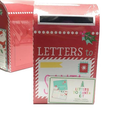 Letters to Santa Mailbox Kit (Includes 6 Cards with Envelopes) 20% to 80% Off at DollarFanatic.com America's Online Dollar Store
