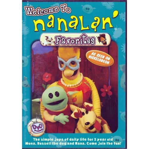 Welcome to Nanalan' Favorites (DVD) As Seen on Nickelodeon