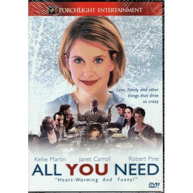 All You Need (DVD) Starring Kellie Martin, Janet Carroll, Robert Pine 20% to 80% Off at DollarFanatic.com America's Online Dollar Store