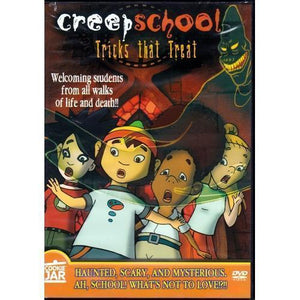 Creep School - Tricks that Treat (DVD) 20% to 80% Off at DollarFanatic.com America's Online Dollar Store