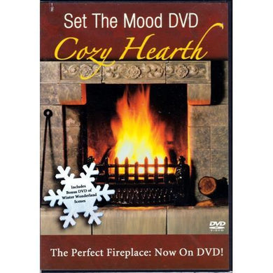 Set the Mood Cozy Hearth (DVD) The Perfect Fireplace 20% to 80% Off at DollarFanatic.com America's Online Dollar Store