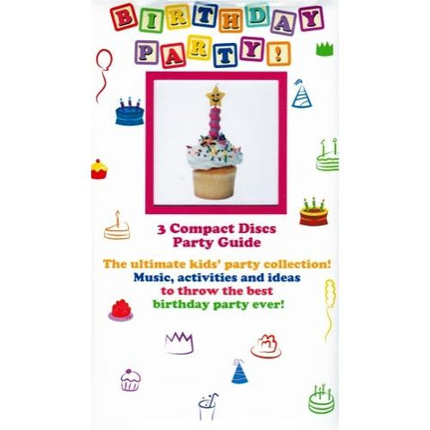 Birthday Party! (3-Music CDs & Party Guide Gift Box Set) only $1.00 at DollarFanatic.com America's Only Exclusively Online One Dollar Store.