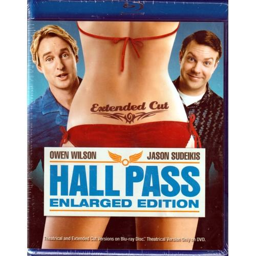 Hall Pass - Enlarged Edition (Blu-Ray DVD) Extended Cut