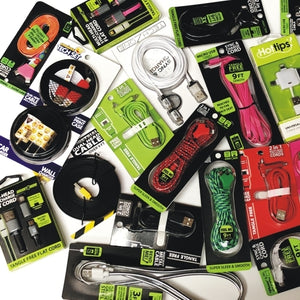 Wholesale Bundle of Premium Micro USB & Lightning Sync & Charge Cable Cords for Smart Phones at DollarFanatic.com America's Exclusively Online Dollar Stores.