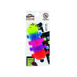 Rainbow Caterpillar Stylus Touch Pen Phone Charm (Colors Vary) at DollarFanatic.com America's Exclusively Online Dollar Stores.
