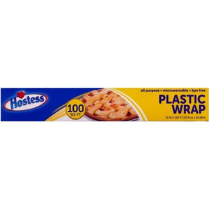 Hostess Plastic Cling Wrap (100 Sq. Ft.)