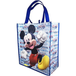 "Disney Mickey Mouse Large Reusable Tote Bag (15"" x 13"" x 6"") Select Style"