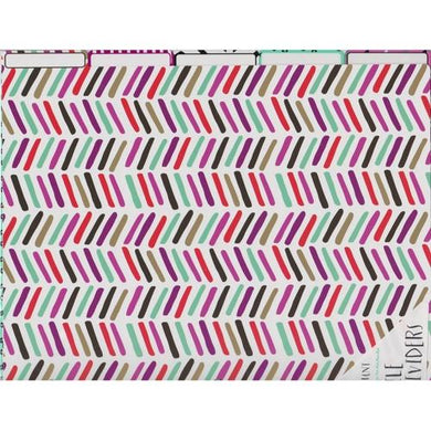 5-Tab File Dividers - Colorful Aztec Prints 20% to 80% Off at DollarFanatic.com America's Online Dollar Store