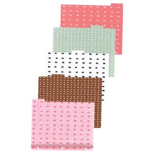 Dots Design Tab File Dividers (5 Pack) at DollarFanatic.com America's Exclusively Online Dollar Stores.