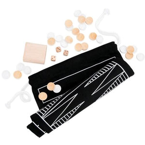 West Emory Backgammon & Checkers Roll Up Bag Game Travel Set at DollarFanatic.com America's Exclusively Online Dollar Stores.