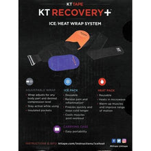 Load image into Gallery viewer, KT Tape KT Recovery + Ice/Heat Compression Wrap Therapy System with Carrying Case