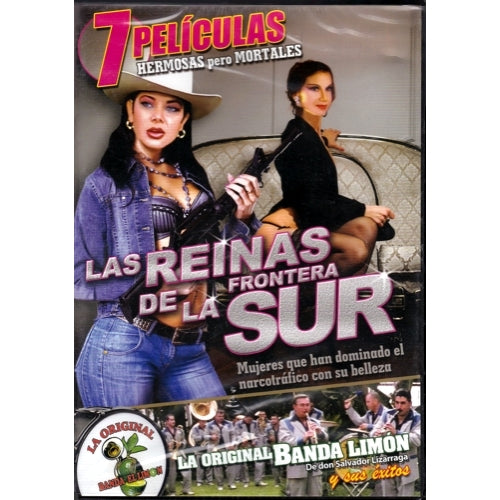 Las Reinas de La Frontera Sur - 7 Peliculas (Spanish DVD Set) only $1.00 at DollarFanatic.com America's First & Only Exclusively Online One Dollar Store.
