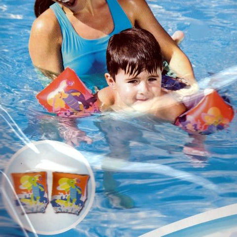 Bestway Turtle Armband Floats (Yellow or Orange)