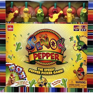 Senor Pepper The Speedy Pepper Picker Game (2-5 Players) For ages 4+