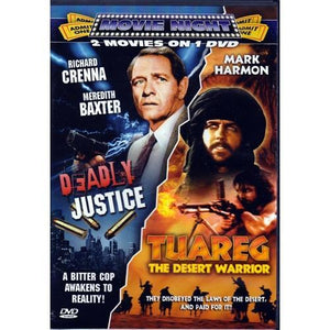 Deadly Justice & Tuareg The Desert Warrior (DVD) 2 Movies on 1 DVD 20% to 80% Off at DollarFanatic.com America's Online Dollar Store