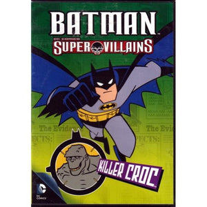 Batman DC Comics Super Villains - Killer Croc (DVD)