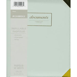 "Mead 6"" x 8"" Refillable Padfolio Includes 50 Sheet Notepad (Cambridge Edition) at DollarFanatic.com America's Exclusively Online Dollar Stores."