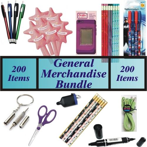 Wholesale Liquidation Bundle of Dollar Store, Festival, or Flea Market General Merchandise at DollarFanatic.com America's Exclusively Online Dollar Stores.