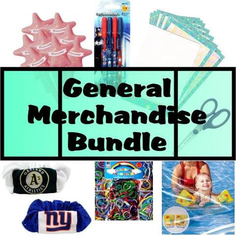 Wholesale Sample Pack Bundle of 50 Assorted Dollar Store/Flea Market General Merchandise
