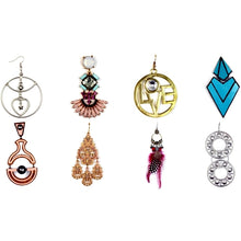 Load image into Gallery viewer, Wholesale Bundle of Premium Large Size Dangle High Fashion & Boutique Style Pierced Earrings at DollarFanatic.com America's Exclusively Online Dollar Stores.