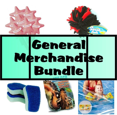 Liquidation - 200 Units of Assorted Dollar Store General Merchandise with Free Shipping only $1.00 at DollarFanatic.com America's First & Only Exclusively Online One Dollar Store.