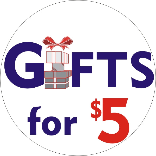 Premium Domain Name with Logos (GiftsFor5.com) 20% to 80% Off at DollarFanatic.com America's Online Dollar Store
