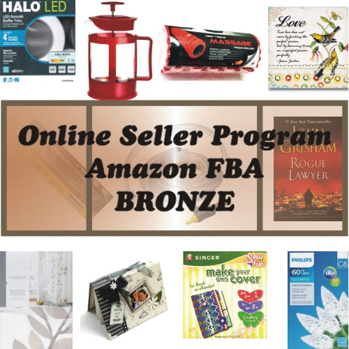Bronze Package - Online Seller Program - $600 Amazon FBA Product Bundle