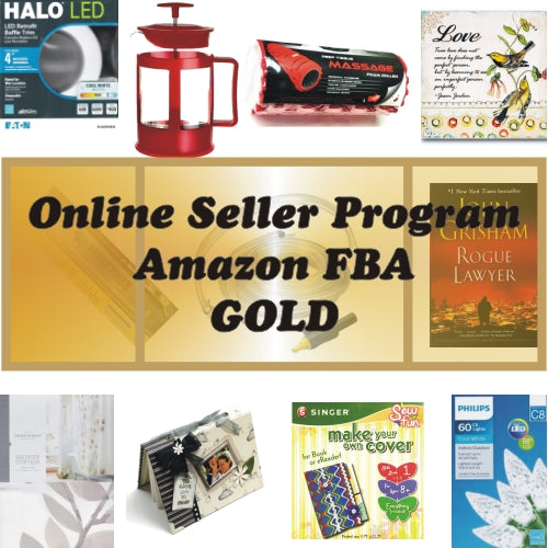 Gold Package - Online Seller Program - $1800 Amazon FBA Product Bundle