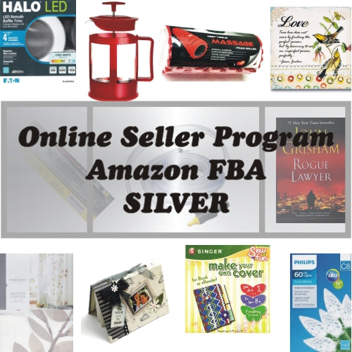 Silver Package - Online Seller Program - $1200 Amazon FBA Product Bundle 20% to 80% Off at DollarFanatic.com America's Online Dollar Store
