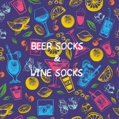 Beer Socks and Wine Socks