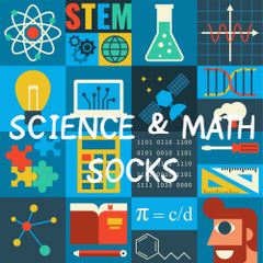 Science Socks and Math Socks
